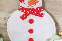 christmas winter sewing
