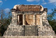 Throne Room- Mayan Theme