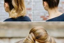 Hair up styles