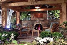 Back porch/pool
