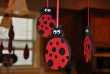 lady bug theme / by Krista Dial
