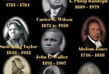 Black history - Black Men & women history