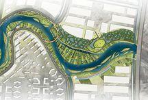 River Landscape Concept