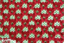 two colour Stitch pattern