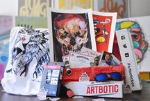 Artbotic.com Subscription Box / Items from past Artbotic boxes