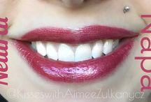 Lip Color Comparisons