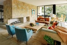 Fireplaces to Enjoy!  / Fireplaces to build a room around.  They are cozy, inviting and make a natural focal point.  Just don't stick a TV above one. :)