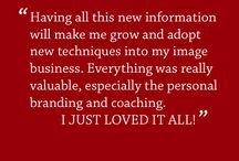 Testimonials / Find out what it means to you and your business to go through the London Image Consulting Training.