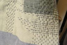 Boro, Sashiko and other stitching