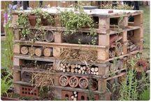 Bug hotels / Hmyzí domečky