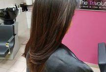 Black hair Sombre