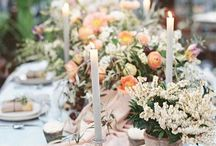 Table centrepieces / Inspiration