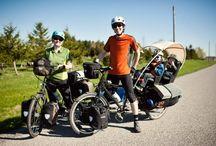 bike traveller all over the world