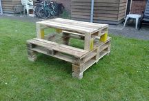 Crafts - pallets / palletten