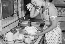 Casalinghe anni '50 - '60