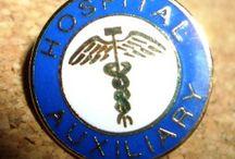 HOSPITAL AUXILIARY Lapel Pins