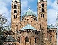 Romanesque - Architectural History / A - Ottonian dynasty  920-1024,  B- Salian dynasty  1024-1125,  C- Staufer dynasty  1138-1254.