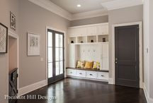 Mudrooms / Organized and family-friendly mudrooms.