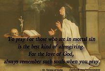 Carmelite's, St Teresa of Avila, etc