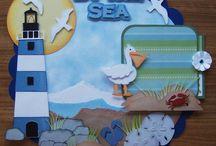 beach scrapbooking layouts / by Tonya King