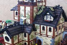 lego gamle bygninger og sånt