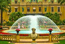 Mónaco / Este tablero incluye fotografías de lugares bellos para ir en Mónaco. Si desea visitar Mónaco y aprender francés visitanos en: www.intercoined.net