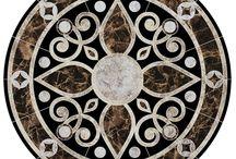 Floor medallions