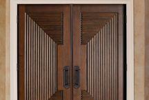 Çift kanat veya giriş kapısı