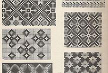 vyplétané vzory