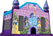 Princess Theme Party /  Disney Princess themed party Ideals.  / by Bounce Houses R Us