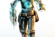Droids,robots,steampunk.ENSC