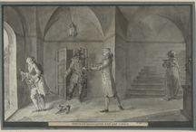 Blandade 1700/1800-tals konstnärer