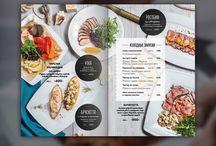 menu with photos