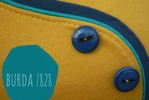 Burda 7828 / Variations and alternations for the Burda 7828 pattern