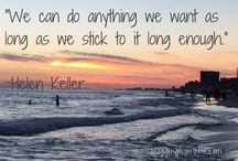 Inspirational Quotes / I believe in kindness and positivity