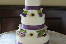 Wedding Cakes / A small sampling of the wedding cakes we've done.