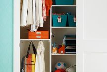 Front Entry Closet / Redoing our front entry closet. Zones we need:  everyday / seasonal / shoes /