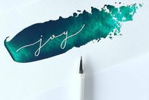 script typography