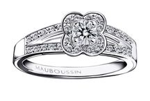 Bridal Collection / Mauboussin has a long history in designing engagement rings and wedding bands. Choose the one of your dreams to symbolize your love and eternal promise. #mauboussin #wedding #brides #love #diamonds #gold #engagementring #weddingband