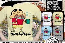 Kaos Crayon Shinchan | Crayon Shinchan T-Shirt