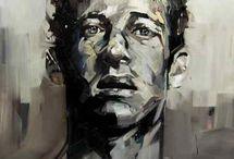 Andrew Salgado / Portret kunstenaar