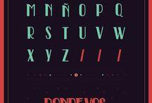 Fonts / by Aaron Vandenbroucke