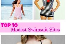 Swimsuits that Don't Make You Feel Naked / by Ashley Layfield