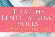 spring rolls- rouleaux de printemps