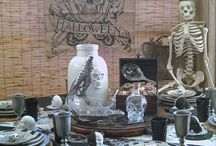 Halloween Tablescapes / Fun or Scary.  So Much Fun!