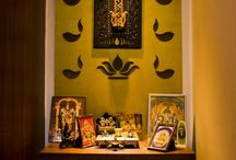 Interior and puja