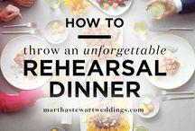 Rehearsal Dinner Revamp!