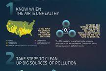 air & pollution.