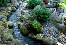 вода ручейки пруды