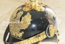 German Pickelhaube Helmets